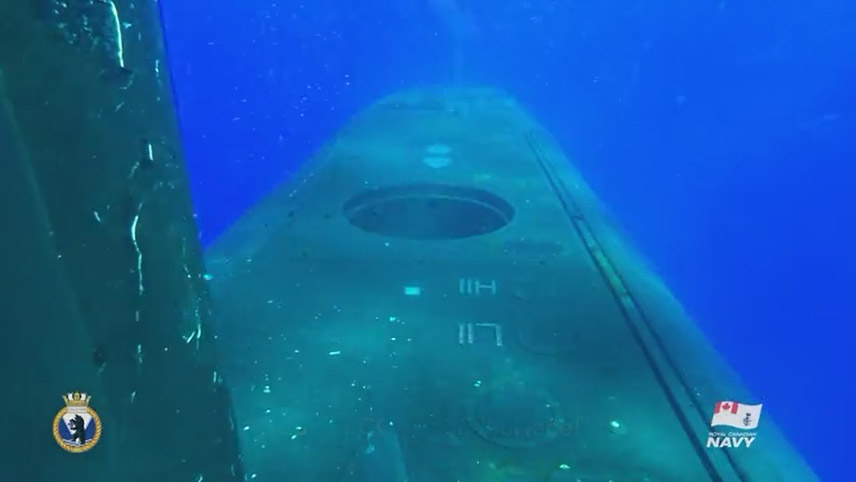 "HMCS Chicoutimi: ""Surface!"""