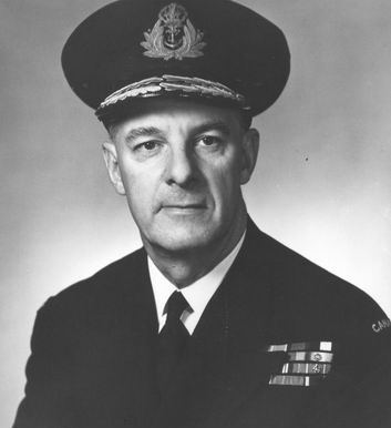 Vice-Admiral Harry George DEWOLF, DSO, DSC, CBE, CD