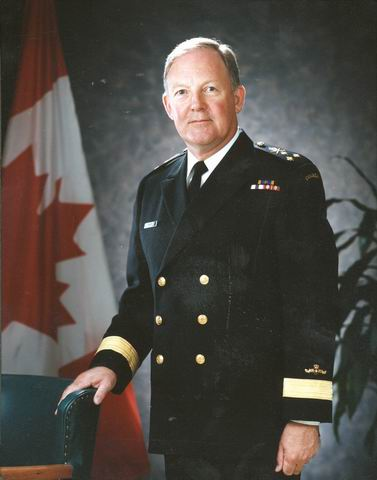 Vice-Admiral Peter William CAIRNS, CMM, CD
