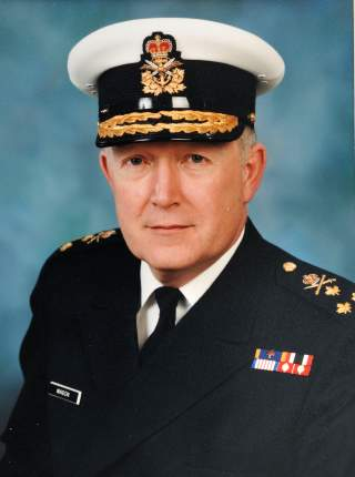 Vice-Admiral Lynn Gordon MASON, CMM, CD