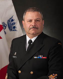 Chief Petty Officer 1st Class Michel Giguère, CD