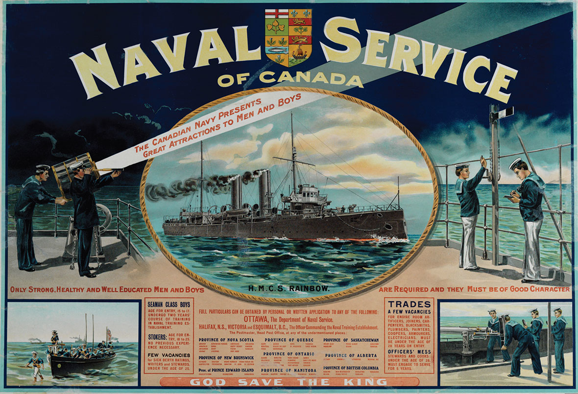 The Royal Canadian Navy centennial image gallery