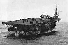 The safe return to Scapa Flow of the Canadian-operated aircraft carrier HMS Nabob, after being torpedoed by a U-boat on 22 August 1944, was an amazing feat of seamanship.