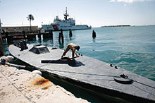 Cartels operating the Colombian cocaine trade are using homemade semi-submersible ships to transport up to 70 percent of the drugs leaving the country's Pacific coast.