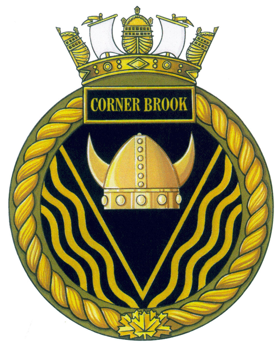 Badge of HMCS Corner Brook