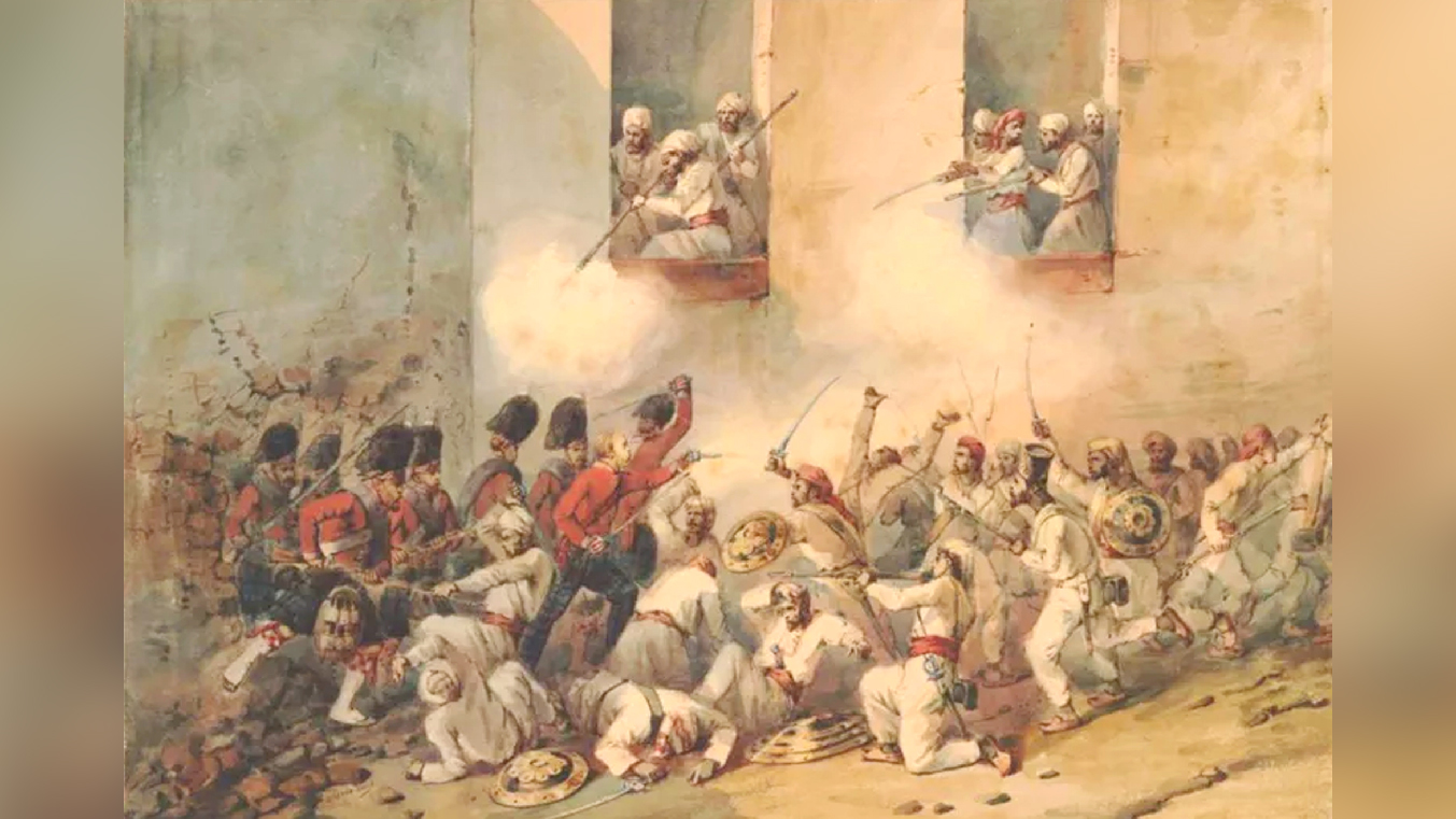 Slide - Siege of Lucknow