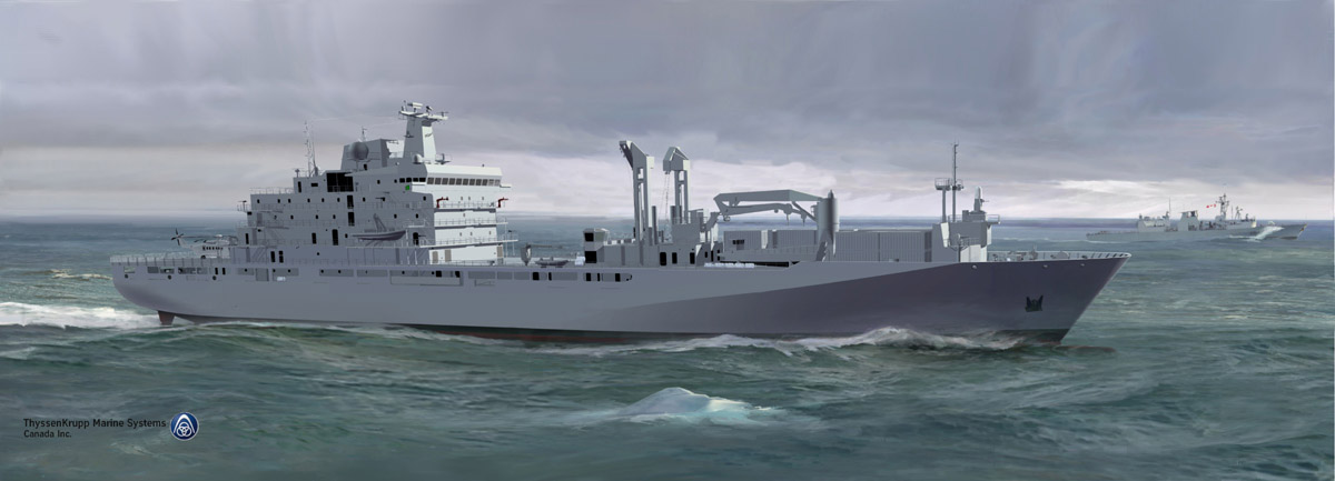 MV Asterix will help fill the replenishment-at-sea capability gap as the navy awaits the construction and delivery of new Protecteur-class Joint Support Ships in 2022.