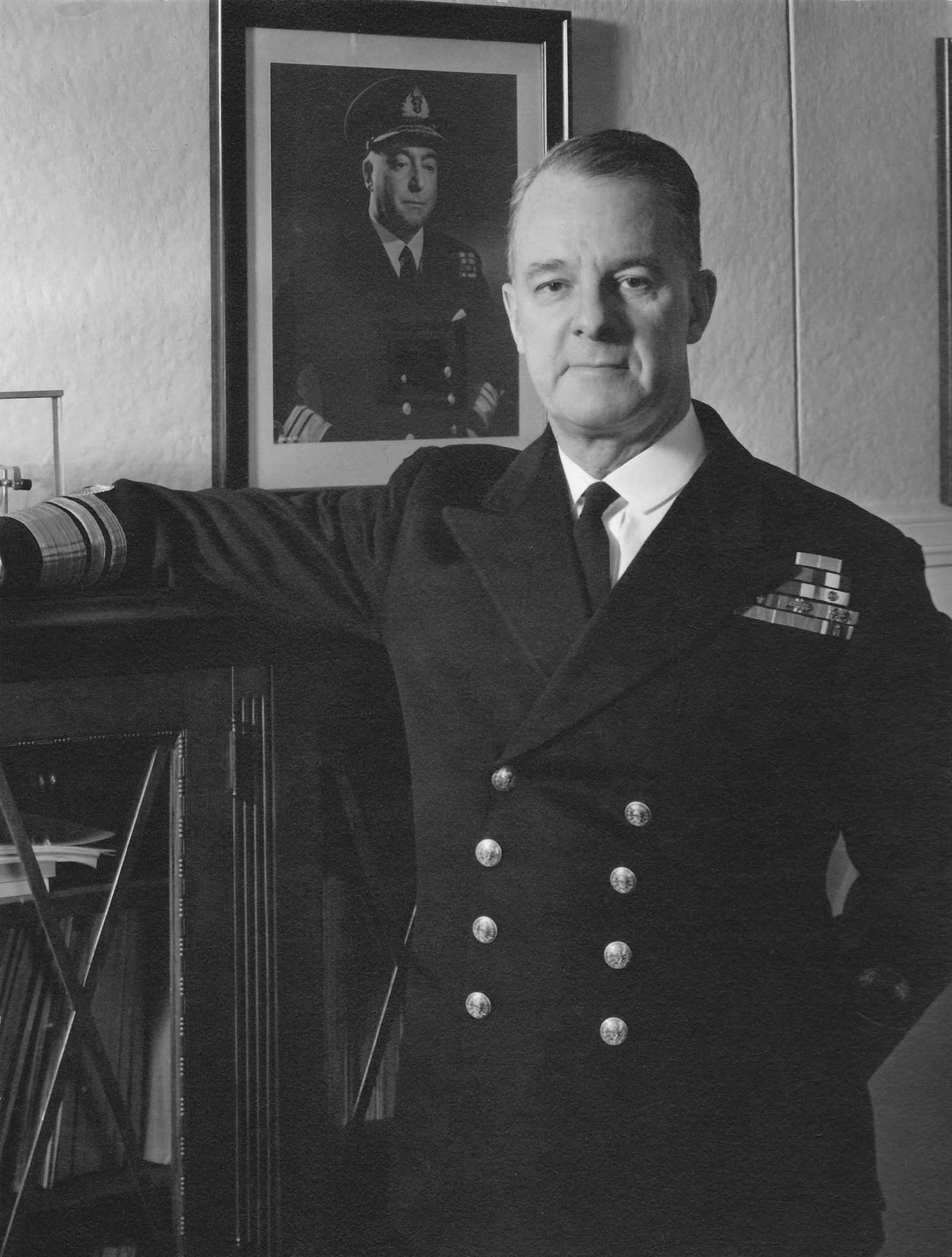Vice-amiral Harry DeWolf (MRC)