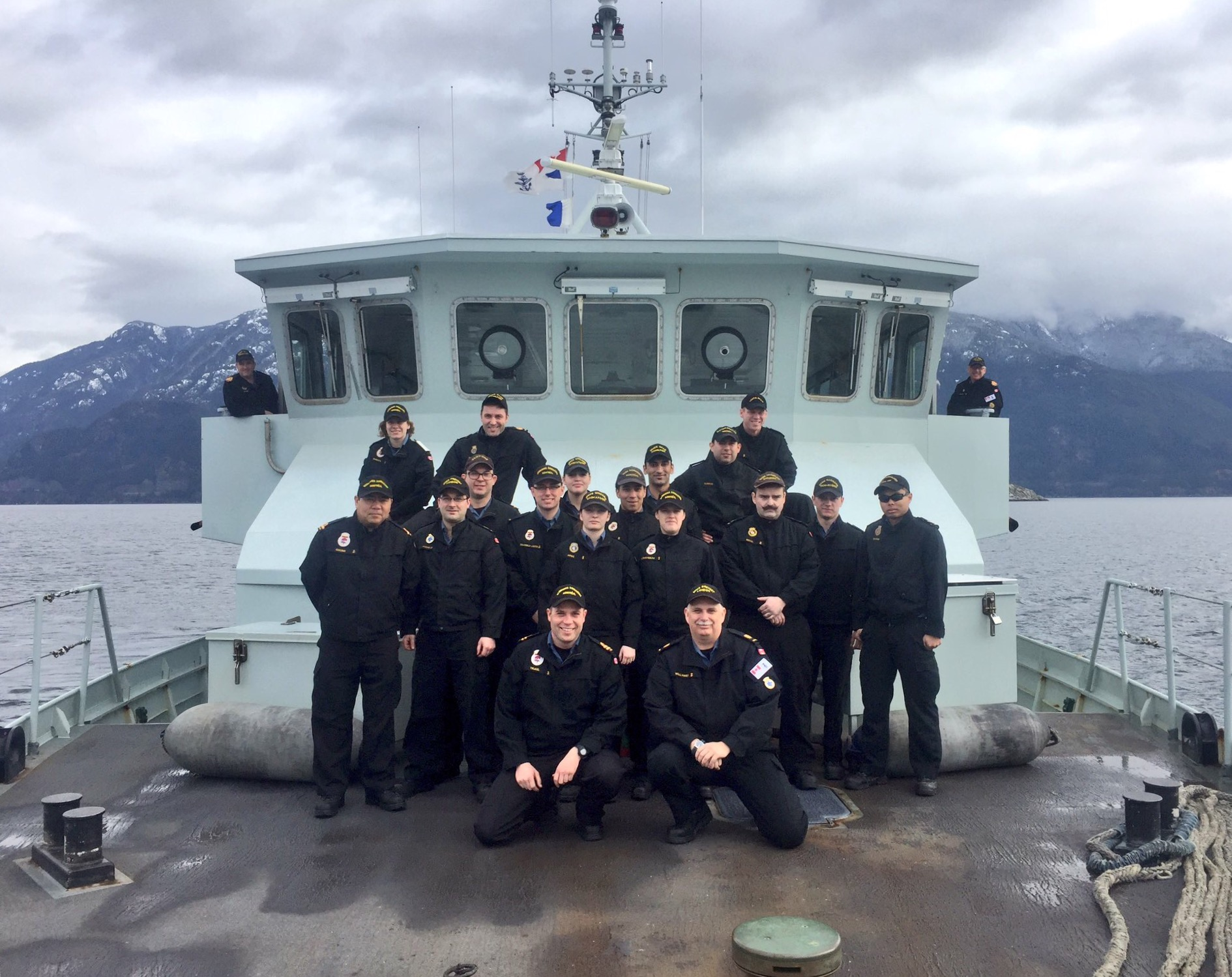 Crew of Orca-class vessel Wolf 59