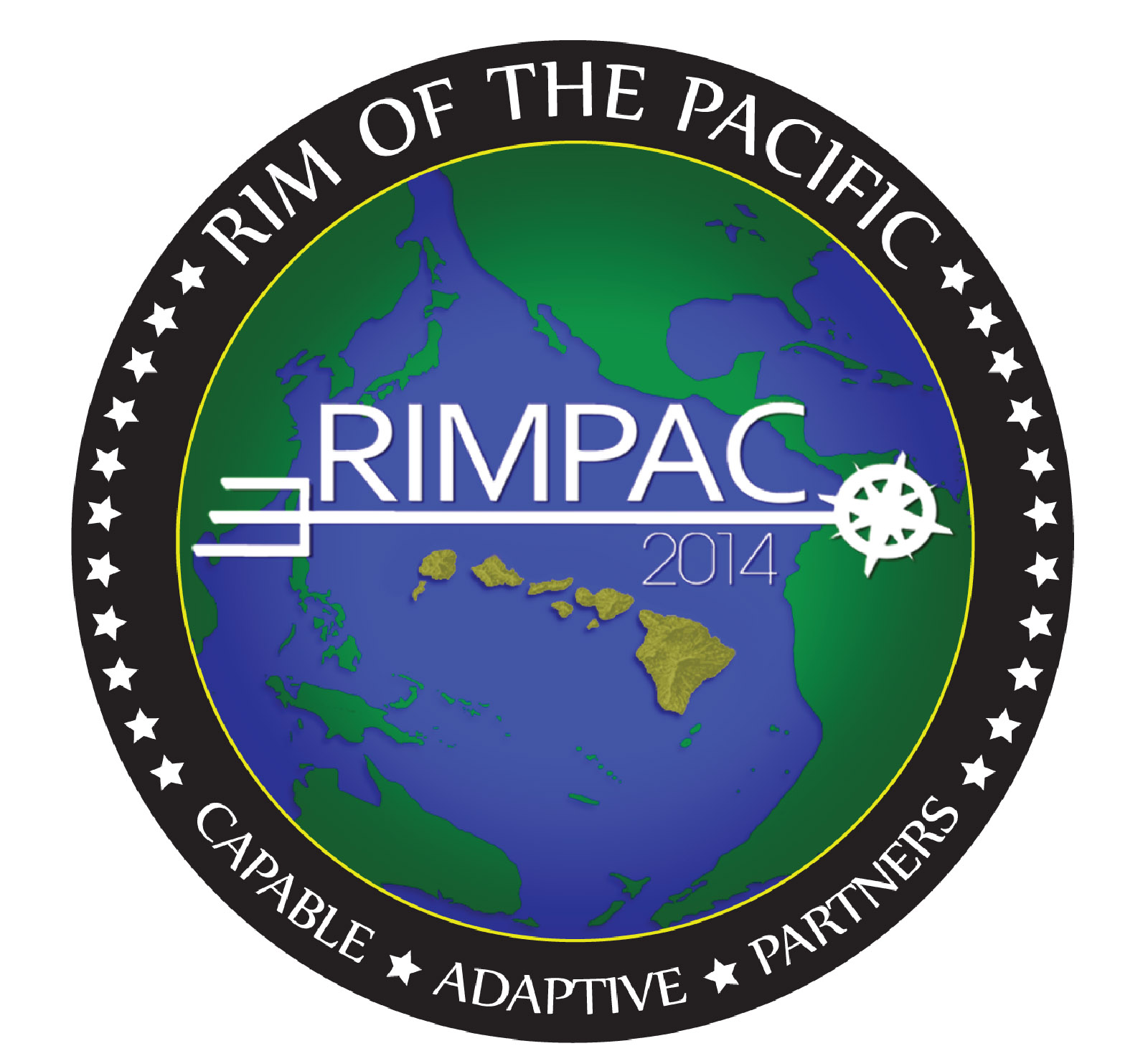 The RIMPAC logo used for the 2014 exercise.
