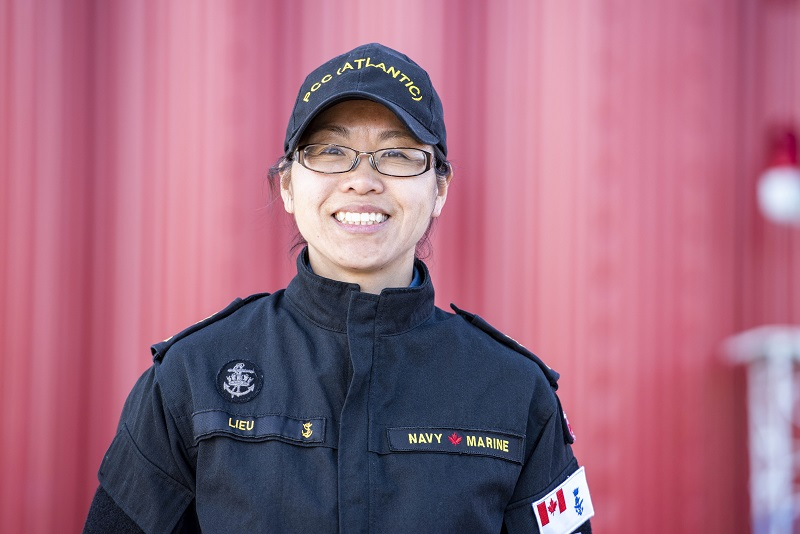 PO2 Lieu Achieves Platinum in the CAF FORCE Test