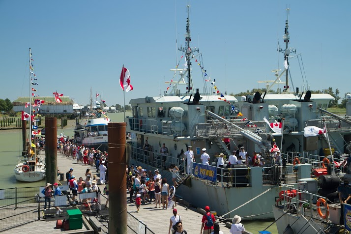 Pacific Region News | Orcas celebrate Canada Day at Ship-to-Shore