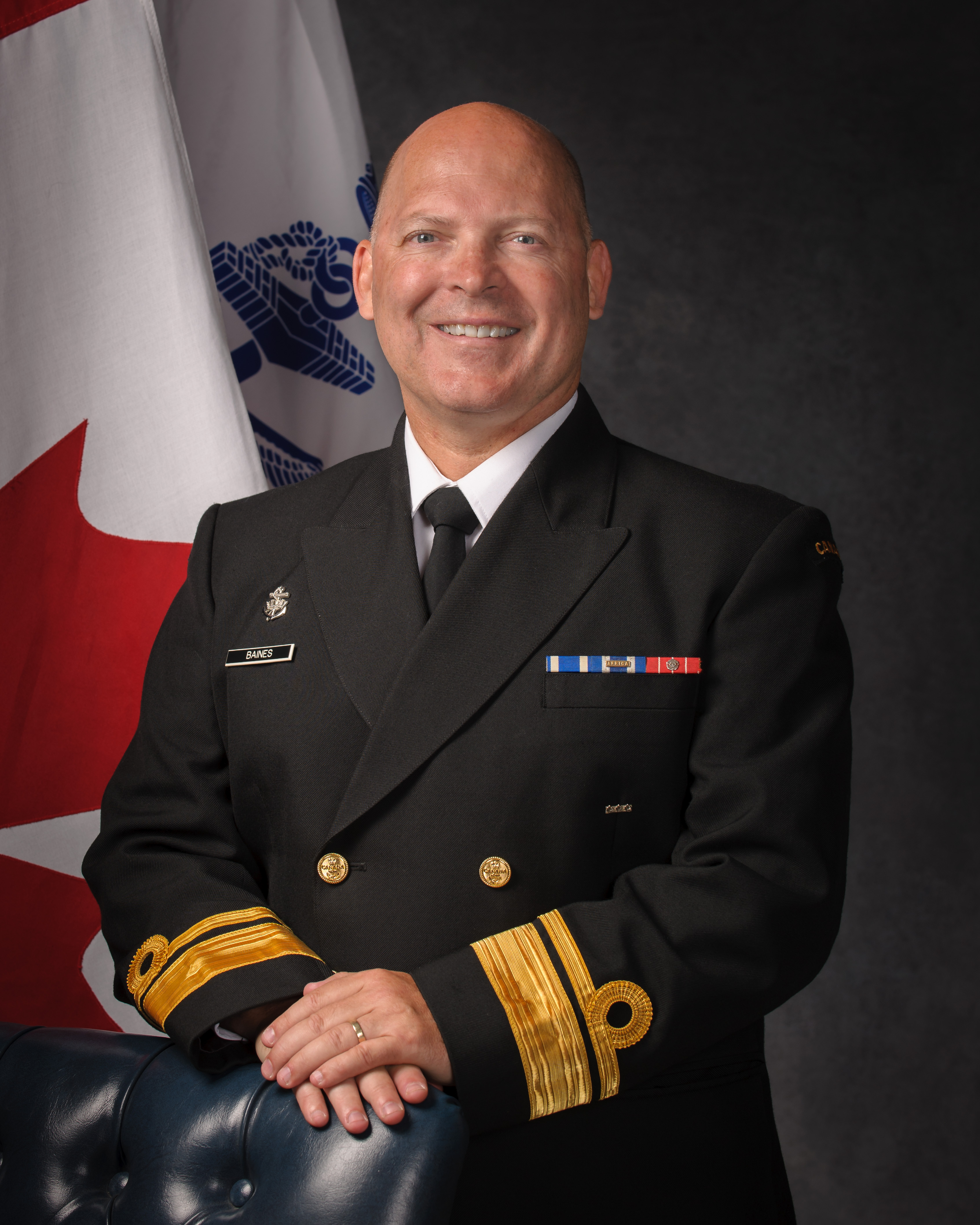 Rear-Admiral Craig Baines, MSC, CD