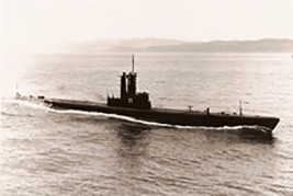 After its service in the United States Navy as USS Burfish, Her Majesty's Canadian Ship Grilse was in service on Canada's West Coast from 1961 to 1968. It was the first submarine to be commissioned into full service since HMCS CH-14 and CH-15 were commissioned in 1921.