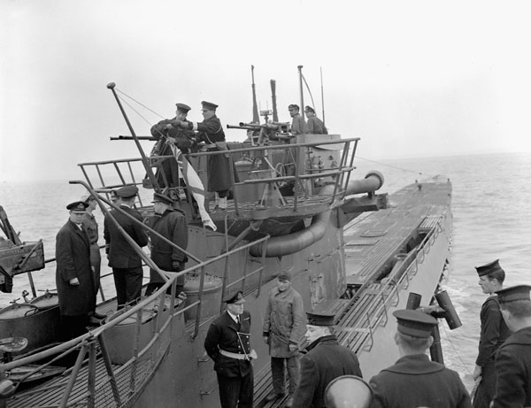 U-889  surrenders to Royal U 889