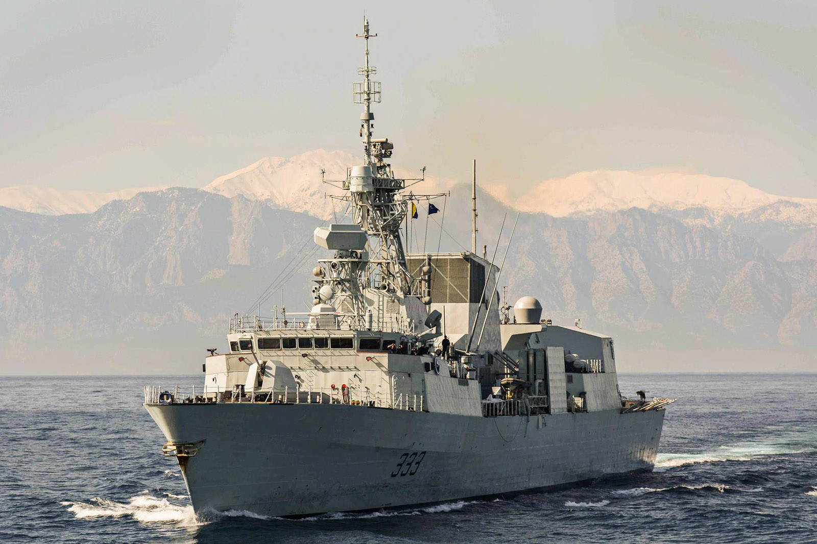 Royal Canadian Navy Your Navy Today February 2019
