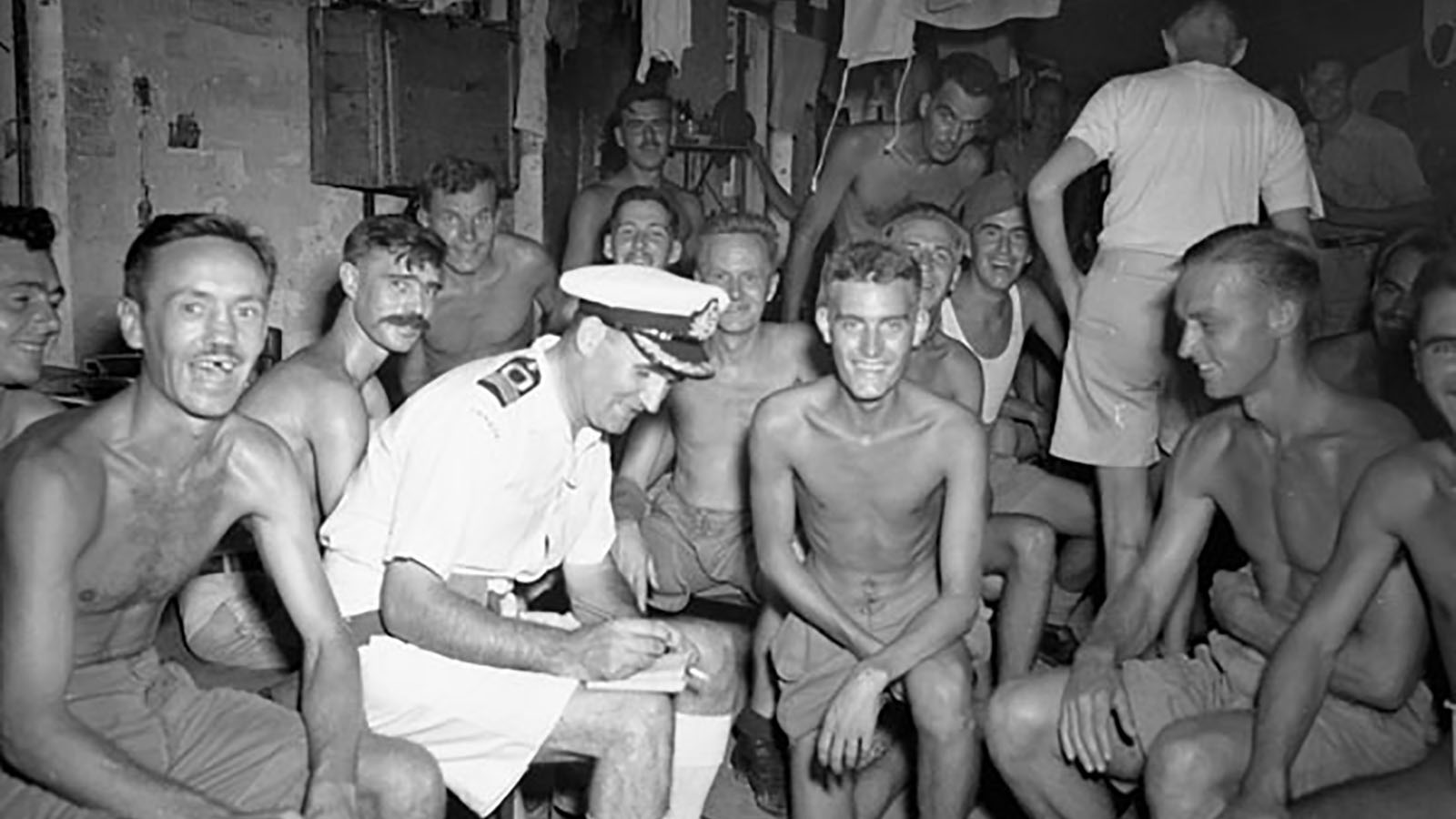 Canadian and British POWs