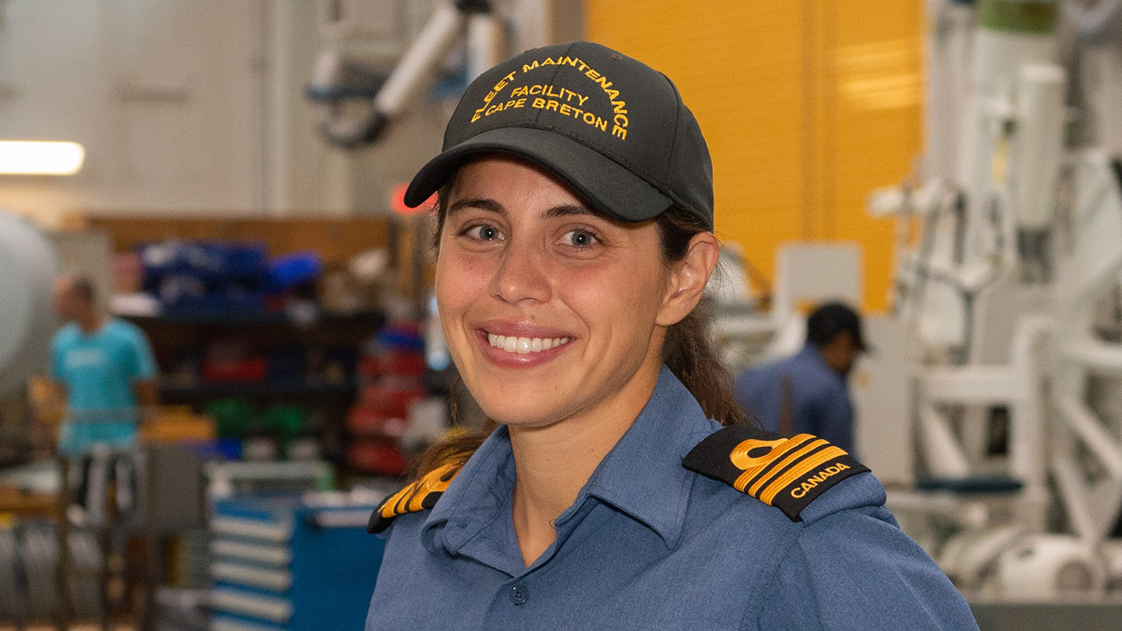 LCdr Calley Gray