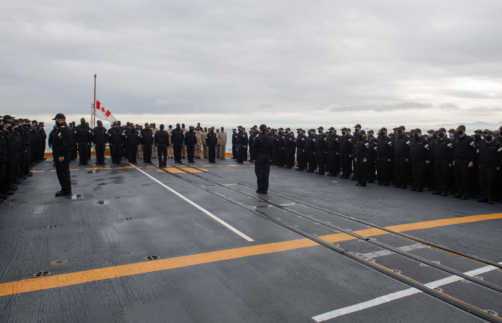 HMCS Winnipeg's ship's company