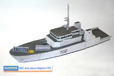 Maquettes De Navires De Guerre En Papier La Marine Royale Canadienne