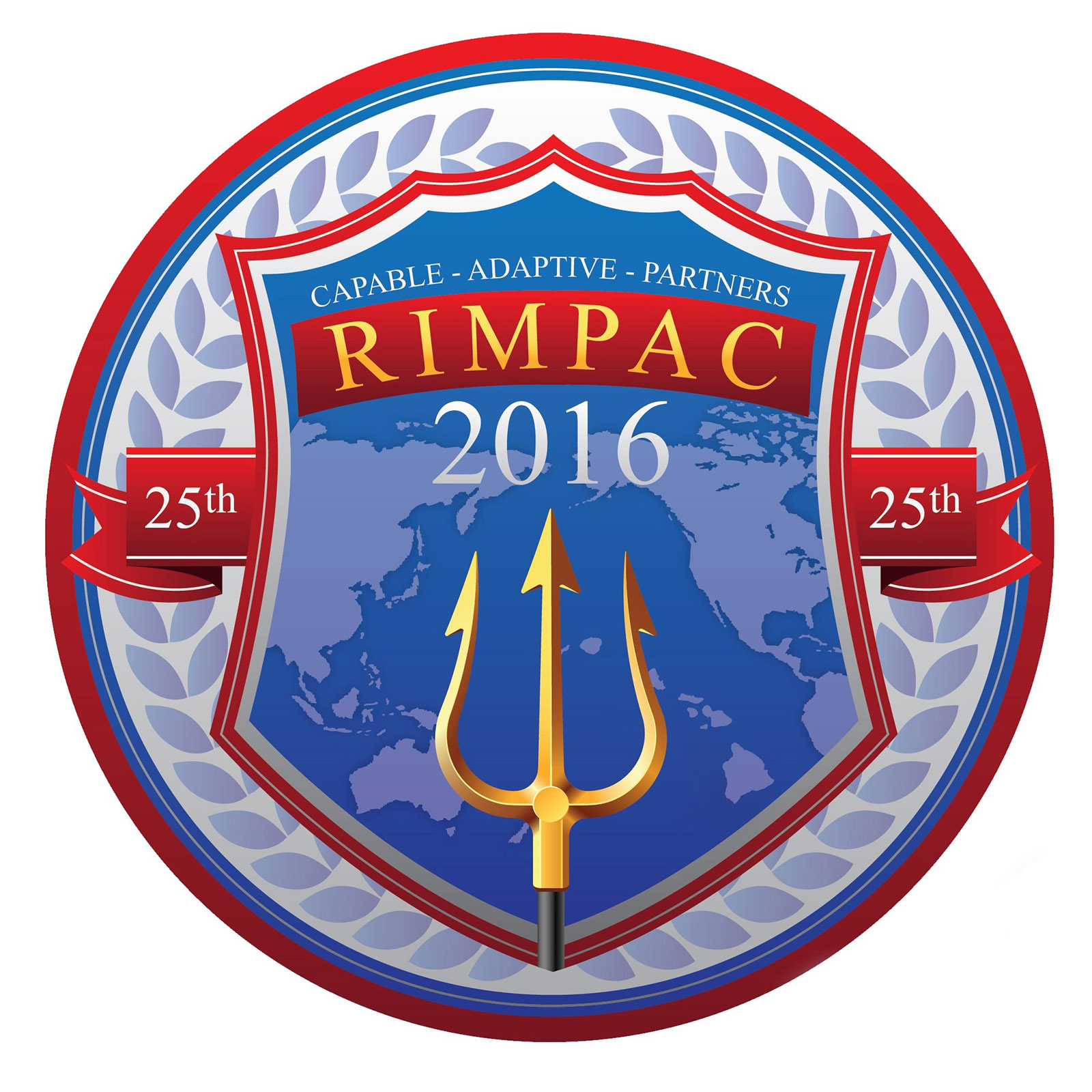 The RIMPAC logo used for the 2016 exercise.