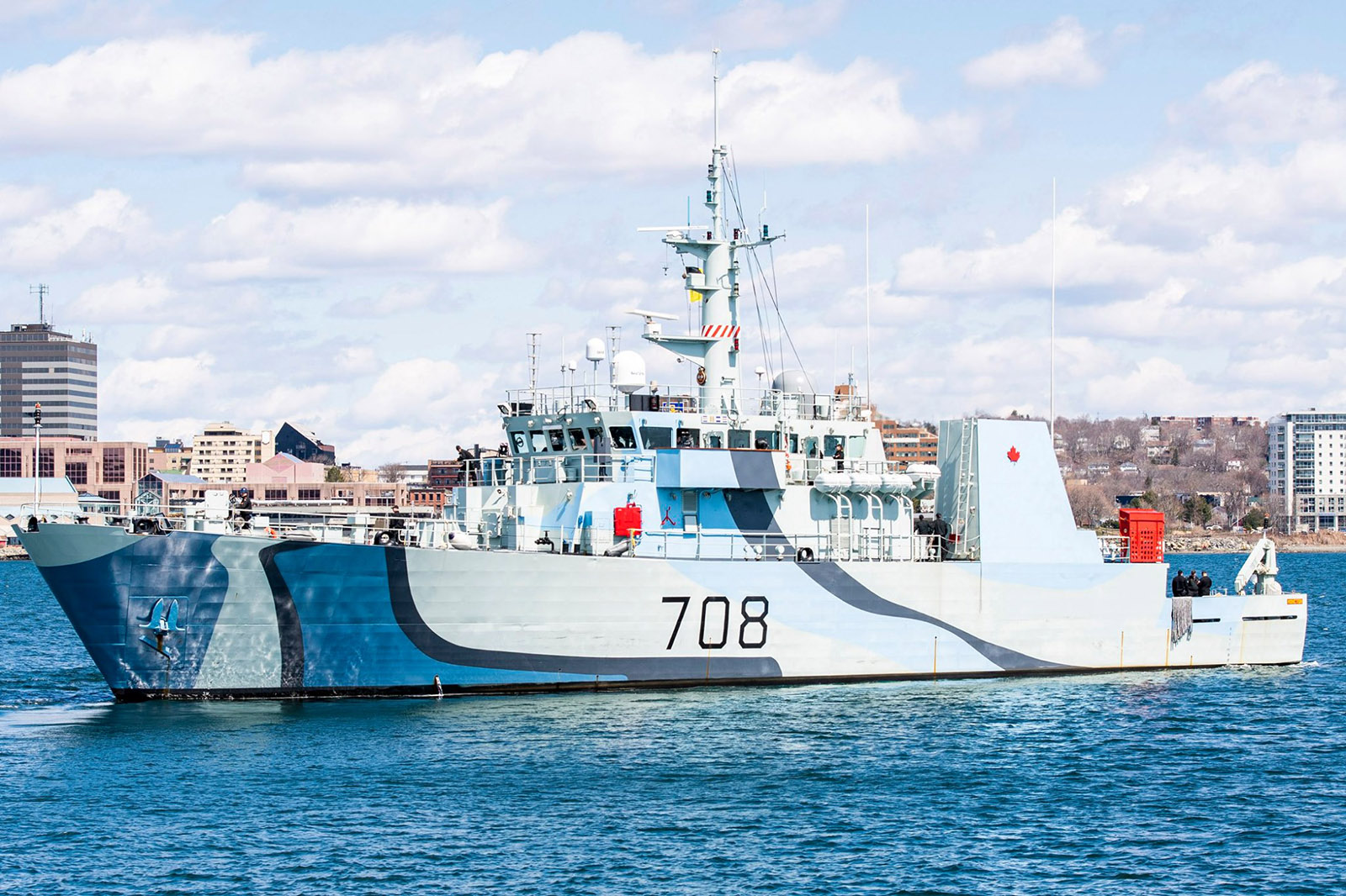 HMCS Moncton headed to sea to be prepared to support Op Laser. The ships will remain in Nova Scotian waters where our sailors stand ready to assist Canadians when called upon.